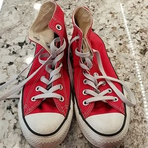 Converse all star red size 6.5